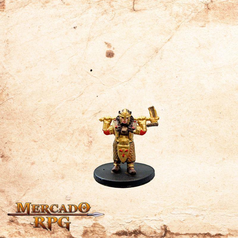 Gold Dwarf Female Cleric  - Mercado RPG