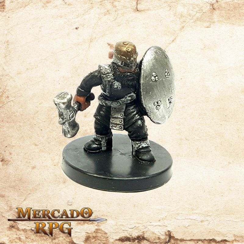 Gold Dwarf Soldier  - Mercado RPG