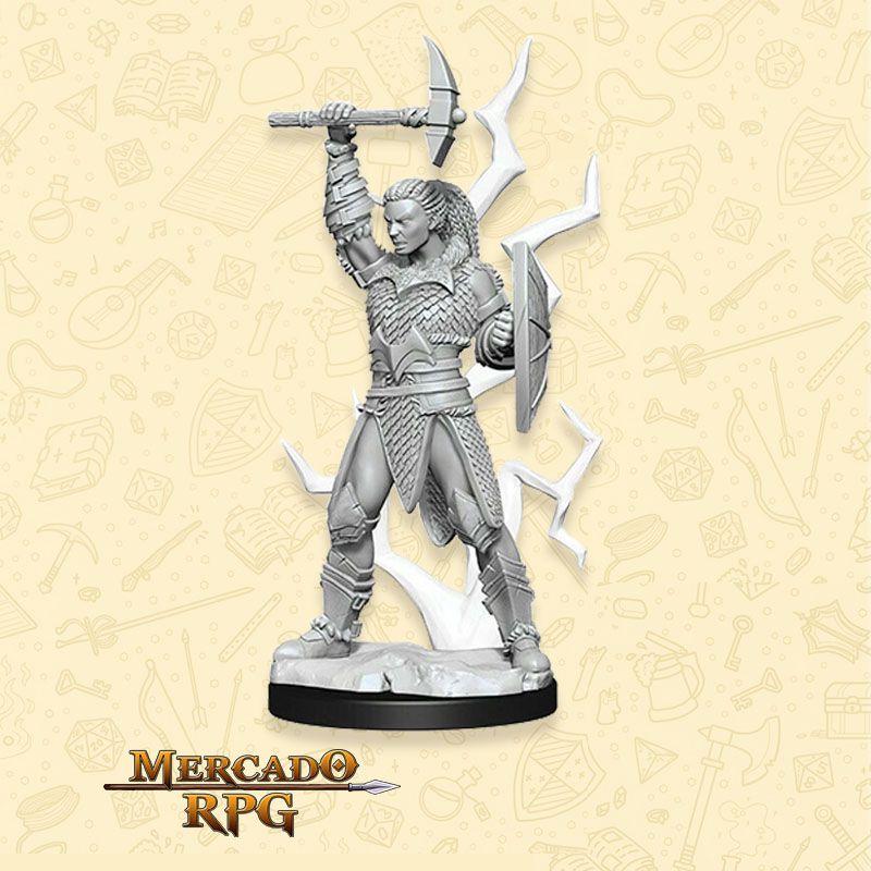 Goliath Female Barbarian A - Miniatura RPG