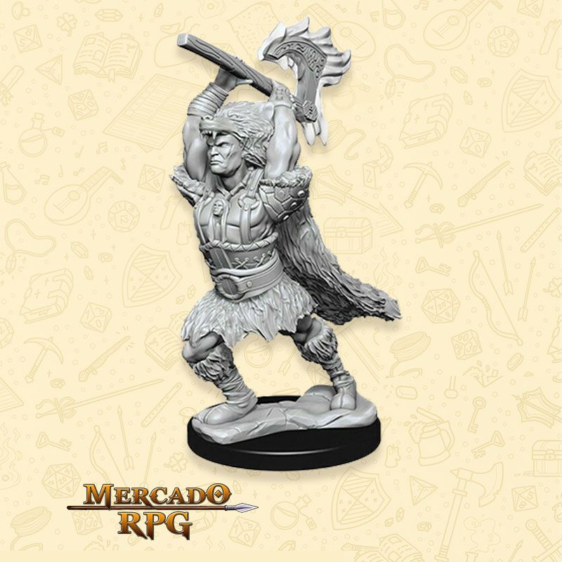 Goliath Male Barbarian A - Miniatura RPG