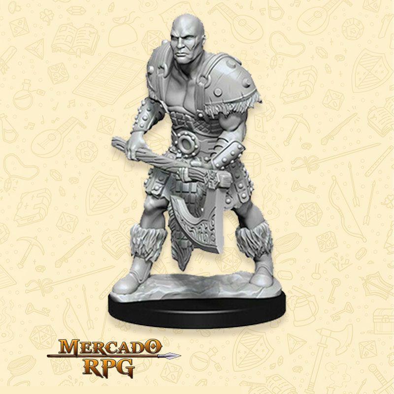 Goliath Male Barbarian B - Miniatura RPG  - Mercado RPG