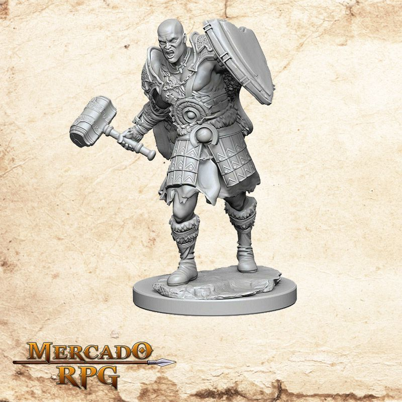 Goliath Male Fighter B - Miniatura RPG