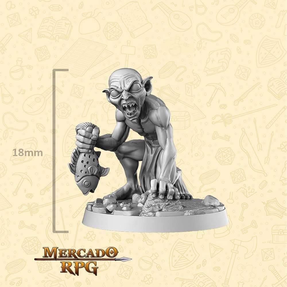Gollum - LOTR - Miniatura - RPG
