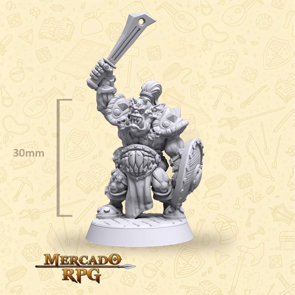 Gormak Orc Elite - Miniatura - RPG