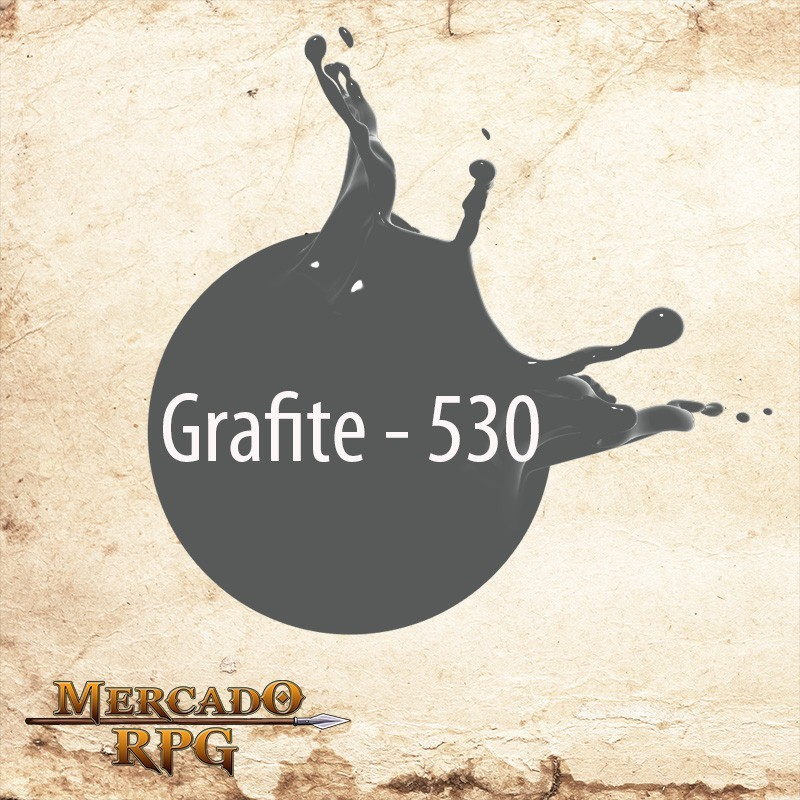 Grafite 530 - Tinta Acrílica Fosca Nature Colors 60ml - Acrilex - RPG