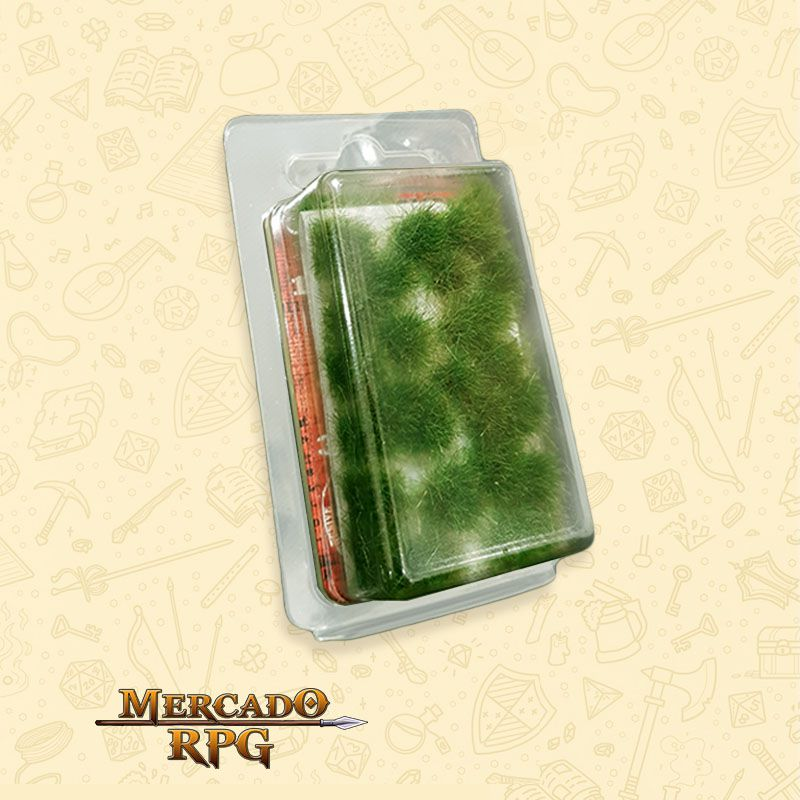 Grass TUFTS XL - 12mm self-adhesive - DARK GREEN - RPG