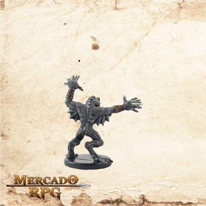 Gray Slaad - Com carta  - Mercado RPG