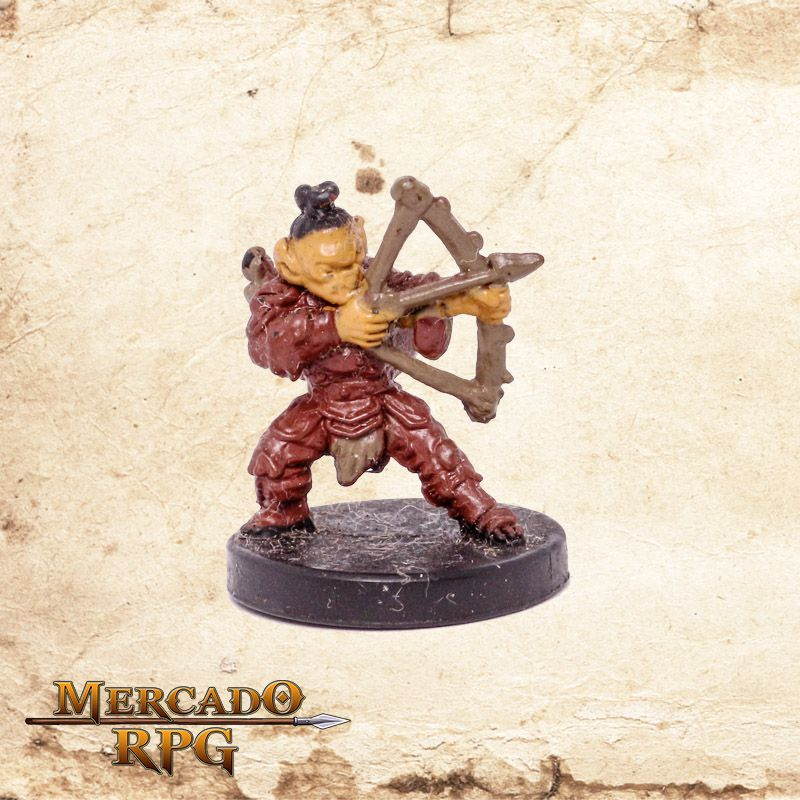 Graypeak Goblin Archer - Miniatura RPG D&D Icons of the Realms