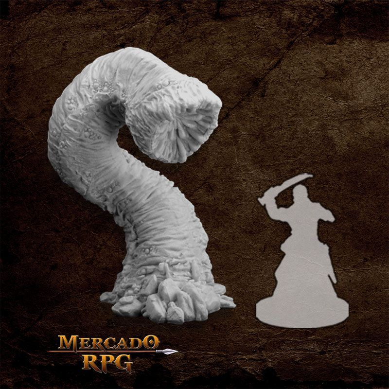 Great Worm - Miniatura RPG  - Mercado RPG
