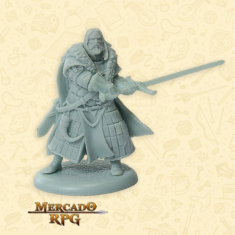 Greatjon Umber - Song of Ice and Fire - Miniatura RPG