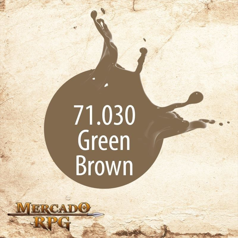 Green Brown 71.030  - Mercado RPG