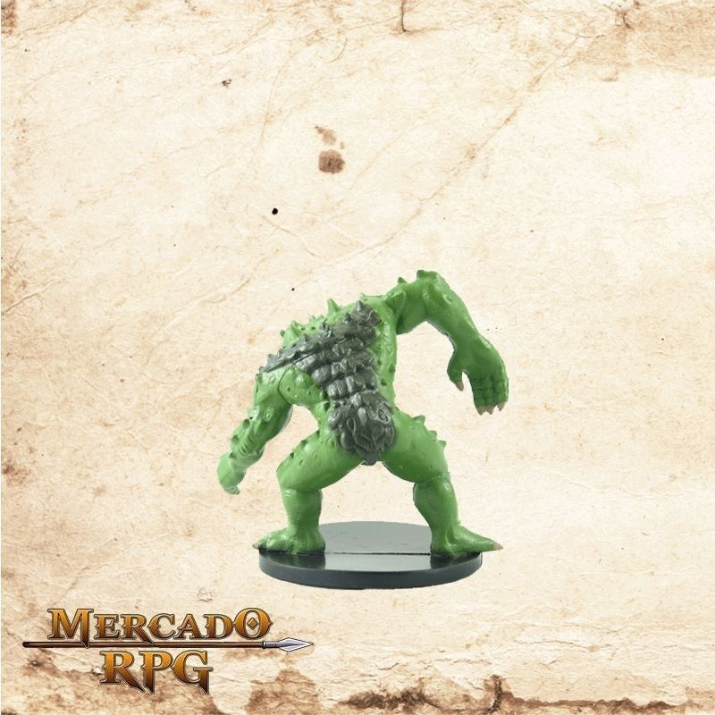 Green Slaad - Com carta  - Mercado RPG