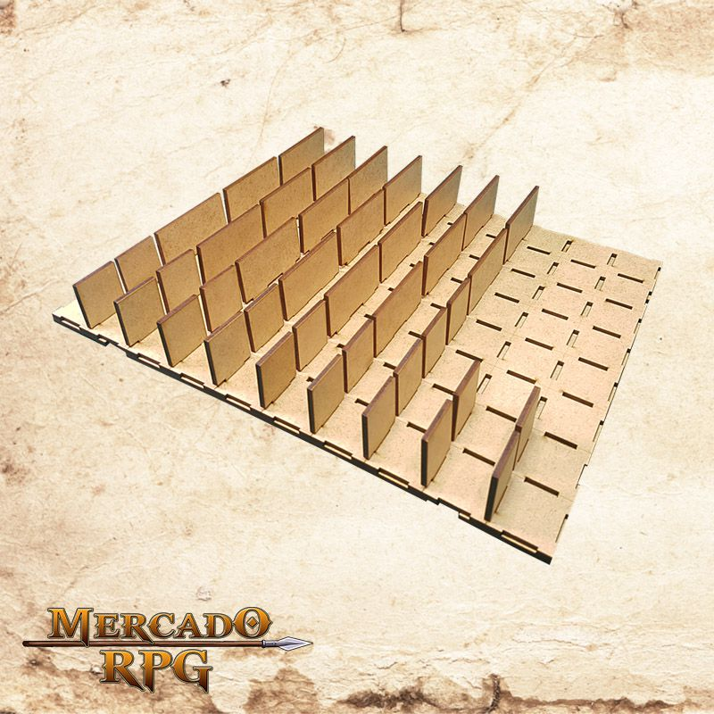 Grid Modular 3D - RPG Battle Grid D&D