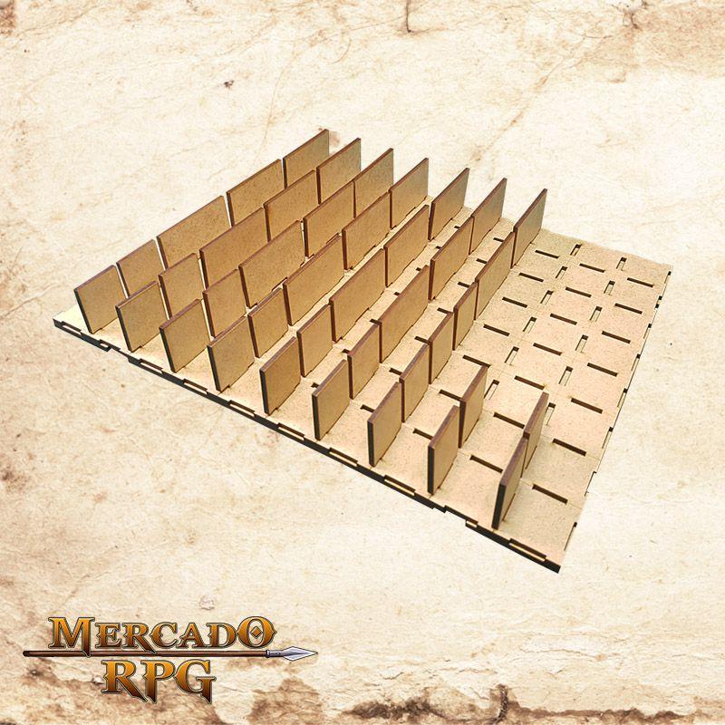 Grid Modular 3D Grid de Batalha - RPG Battle Grid D&D