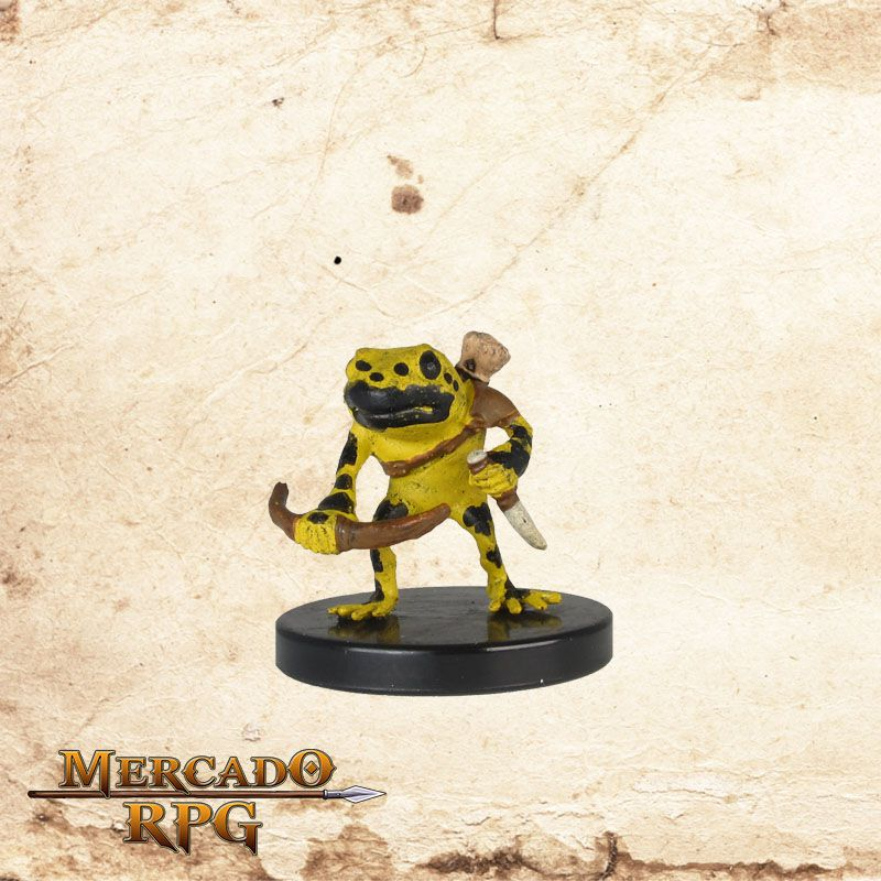 Grung Elite Warrior - Miniatura RPG