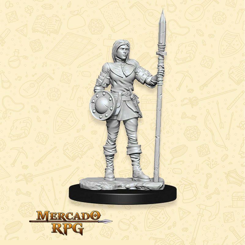 Guard Female - Miniatura RPG  - Mercado RPG