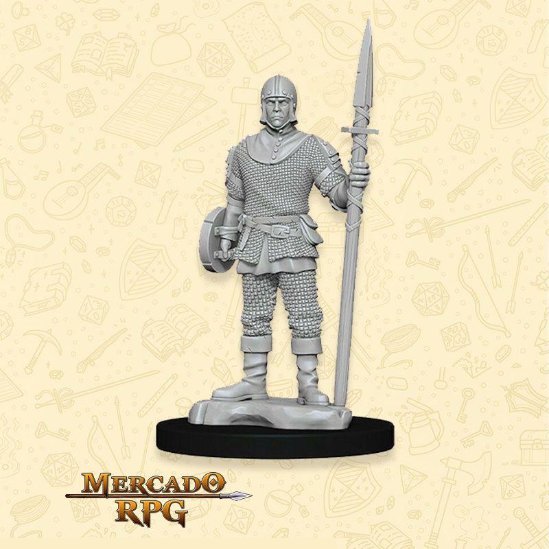 Guard Male - Miniatura RPG  - Mercado RPG