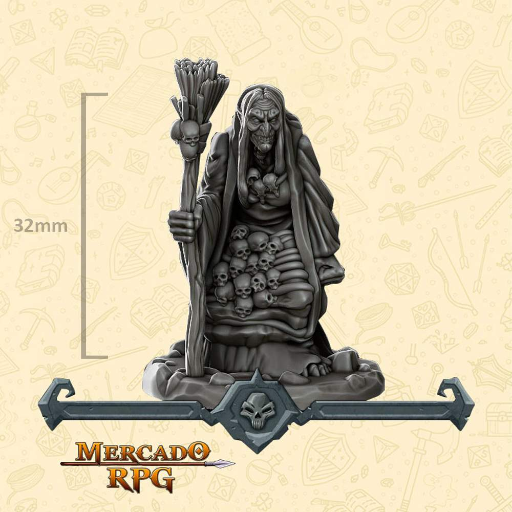 Hag - Miniatura - RPG
