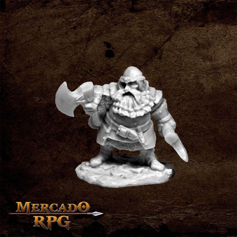 Hagar, Dwarven Hero  - Mercado RPG