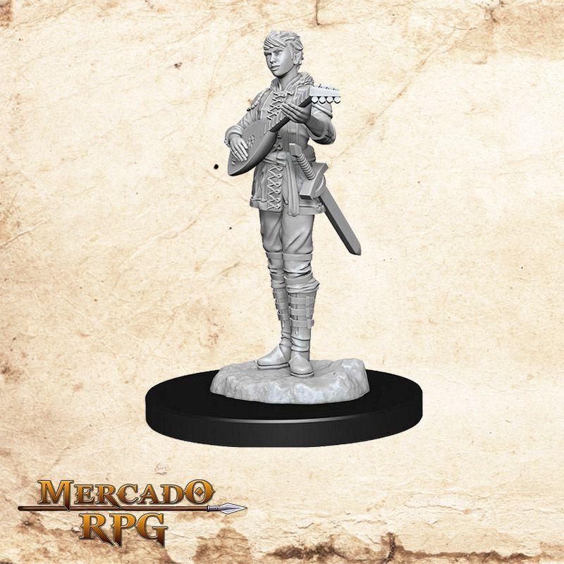 Half Elf Female Bard A - Miniatura RPG  - Mercado RPG