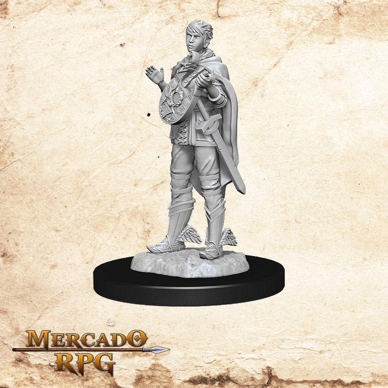 Half Elf Female Bard B - Miniatura RPG  - Mercado RPG