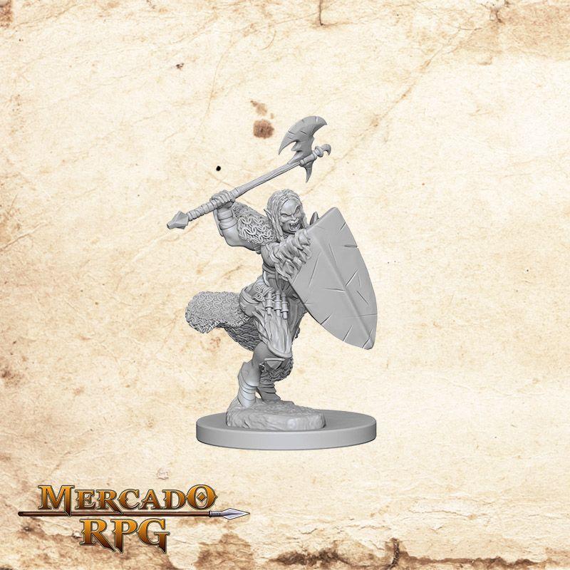 Half-Orc Female Barbarian B  - Mercado RPG