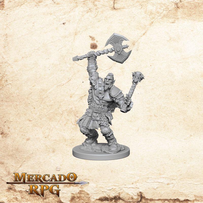 Half-Orc Male Barbarian B