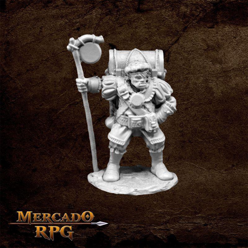 Half-orc Merchant  - Mercado RPG