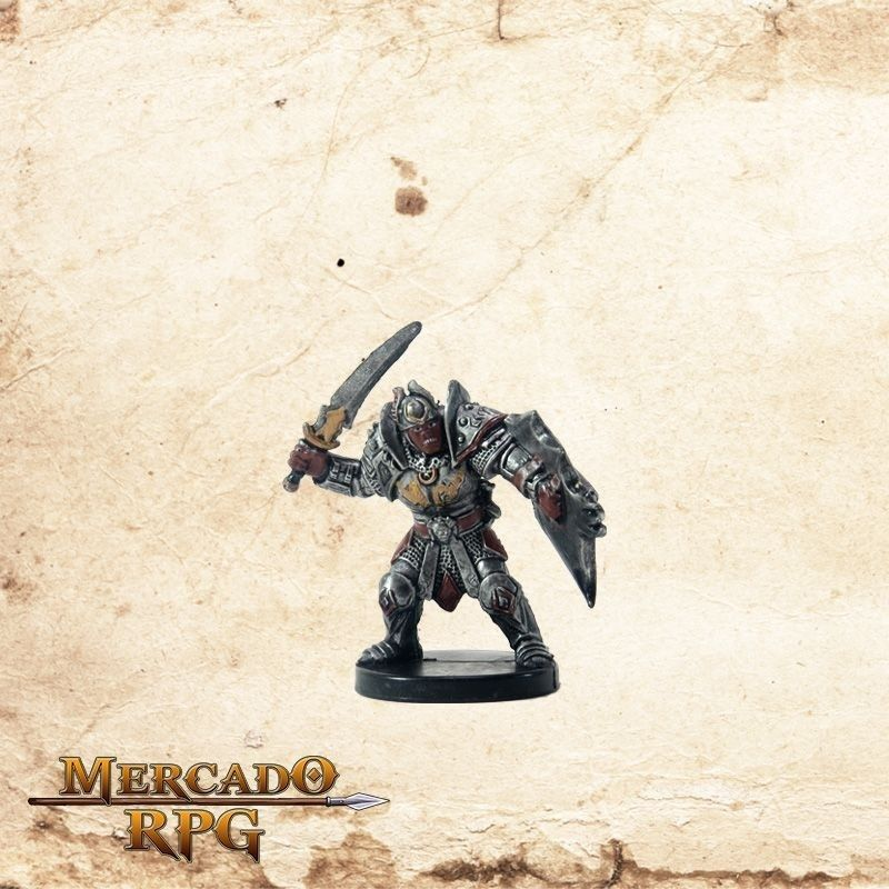 Half Orc Paladin - Sem carta  - Mercado RPG