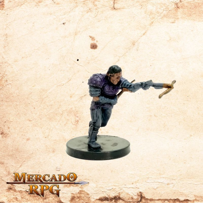 Half Orc Thug - Sem carta - Miniatura RPG