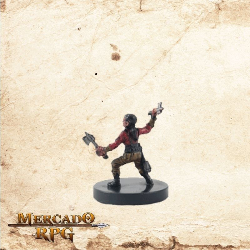 Halfling Brawler - Sem carta  - Mercado RPG