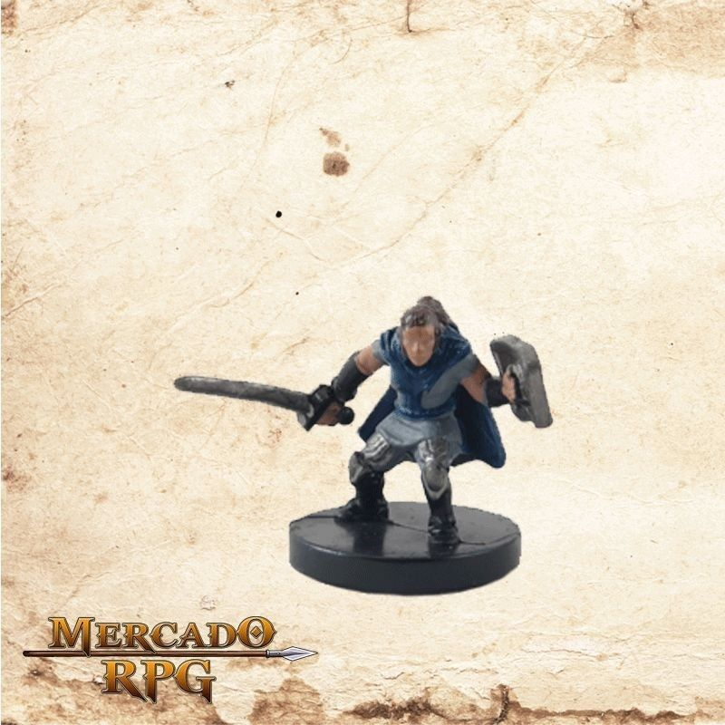 Halfling Paladin - Com carta  - Mercado RPG