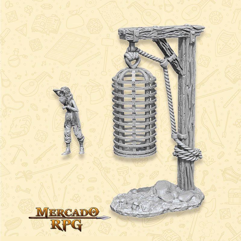 Hanging Cage - Miniatura RPG  - Mercado RPG