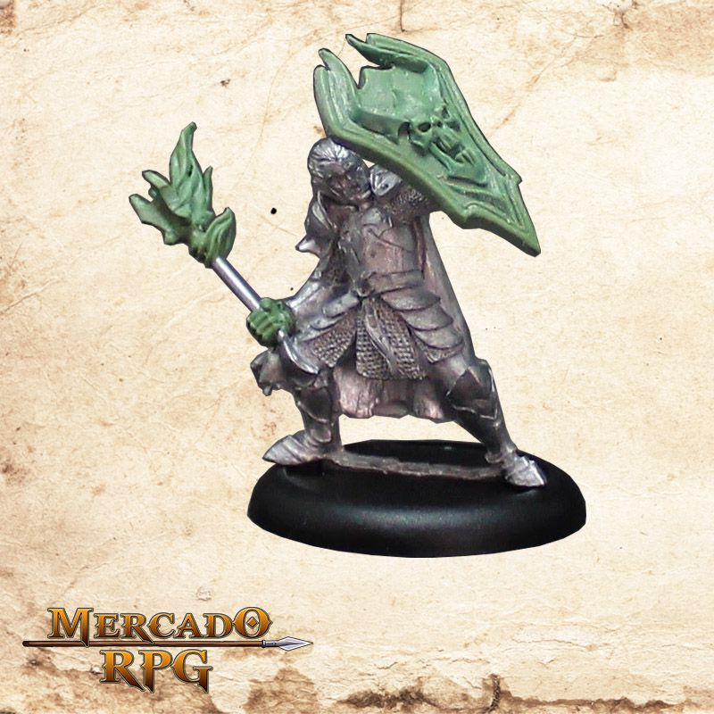 Hanssen Hanzar - Caçador de Demônios (Sem pintura) - Miniatura RPG  - Mercado RPG