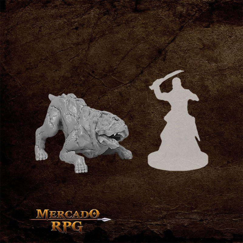 Hell Hound C - Miniatura RPG  - Mercado RPG