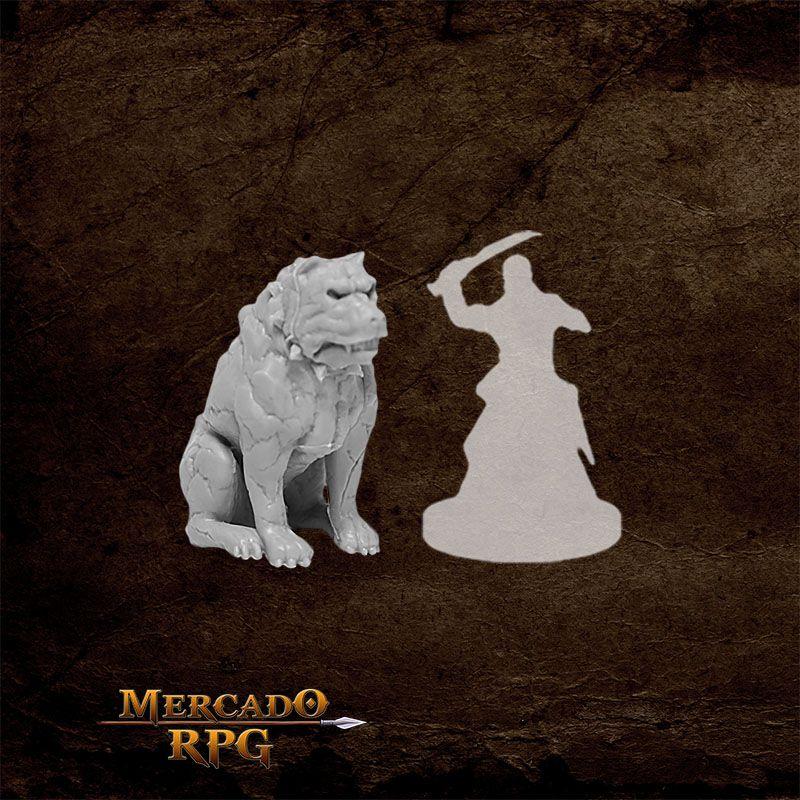 Hell Hound A - Miniatura RPG  - Mercado RPG