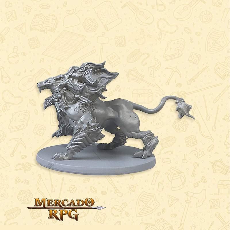 Hellhound - Massive Darkness - Miniatura RPG