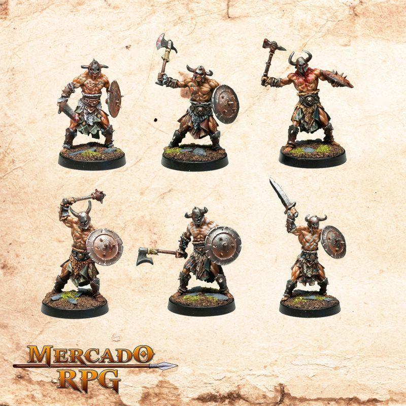 HelsVakt Hordesmen (6 Miniaturas)  - Mercado RPG