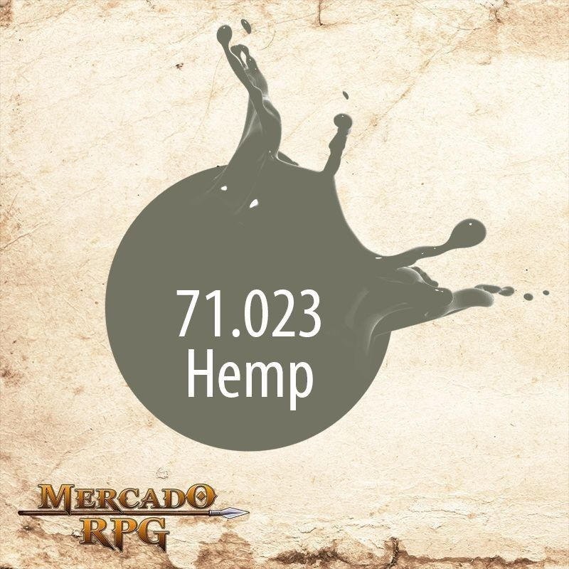 Hemp 71.023  - Mercado RPG