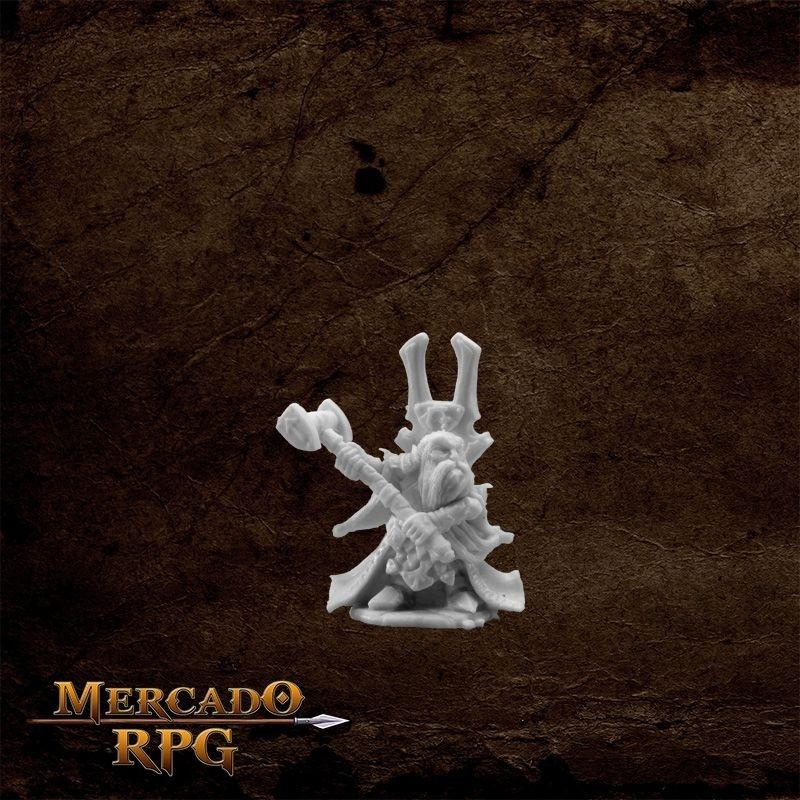 Herryk, Dwarf Cleric  - Mercado RPG