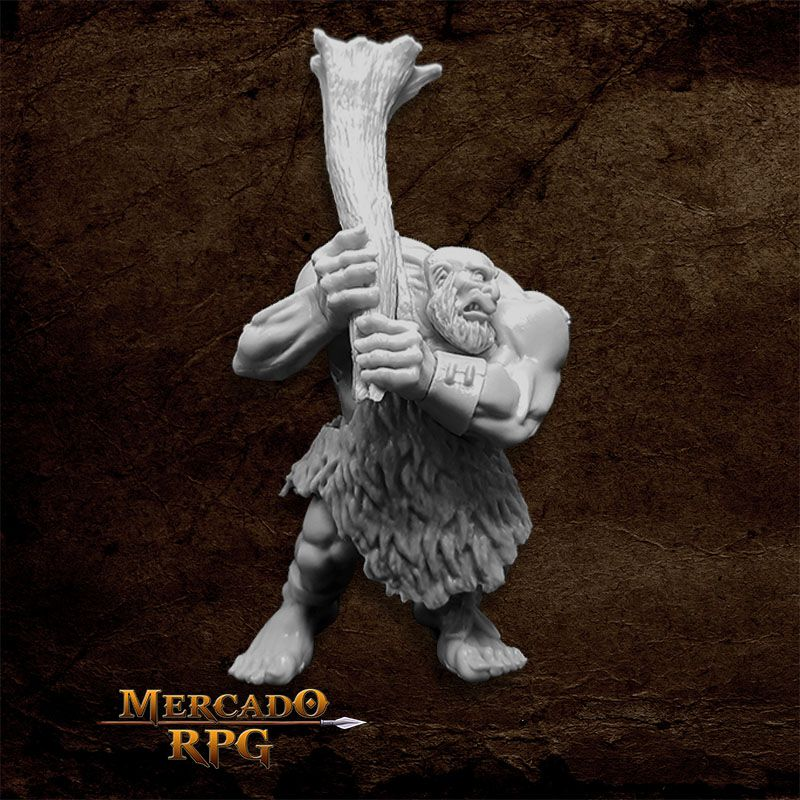 Hill Giant Lowland Chief - Miniatura RPG
