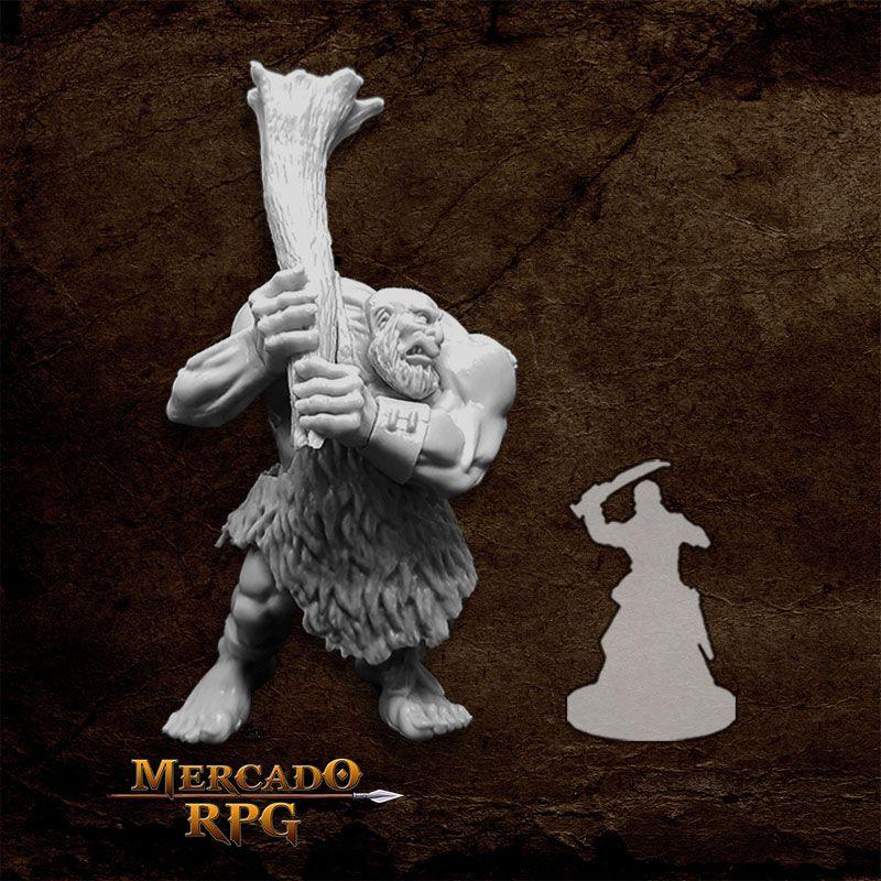 Hill Giant Lowland Chief - Miniatura RPG  - Mercado RPG