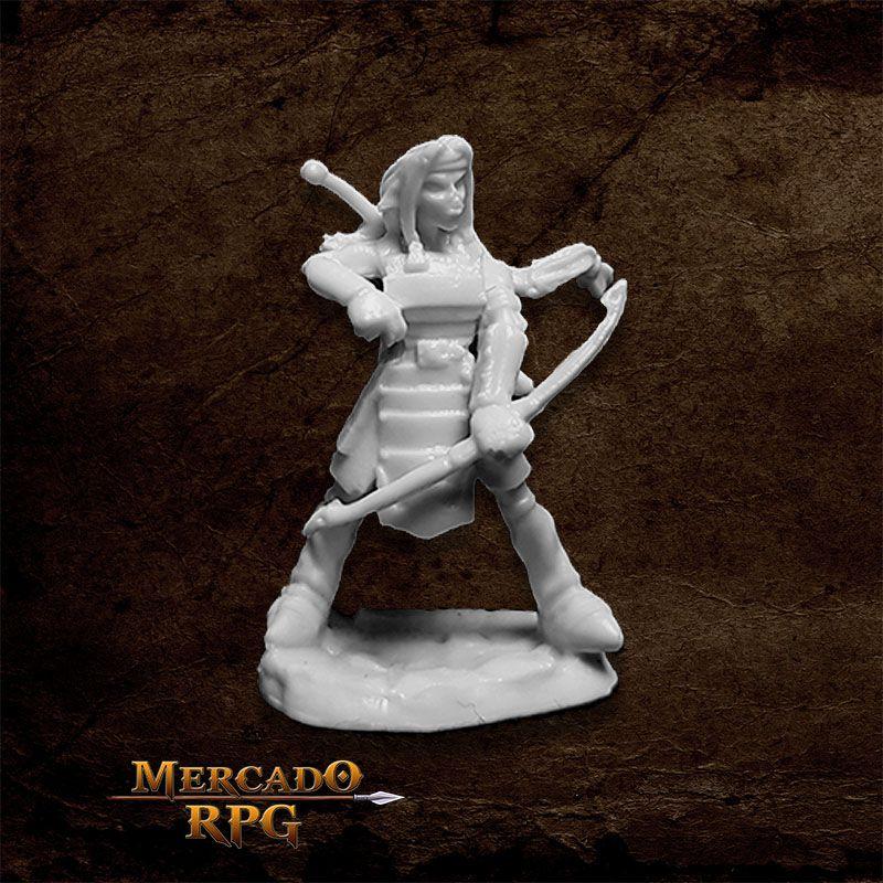 Hobgoblin Warrior B - Miniatura RPG Reaper Bones