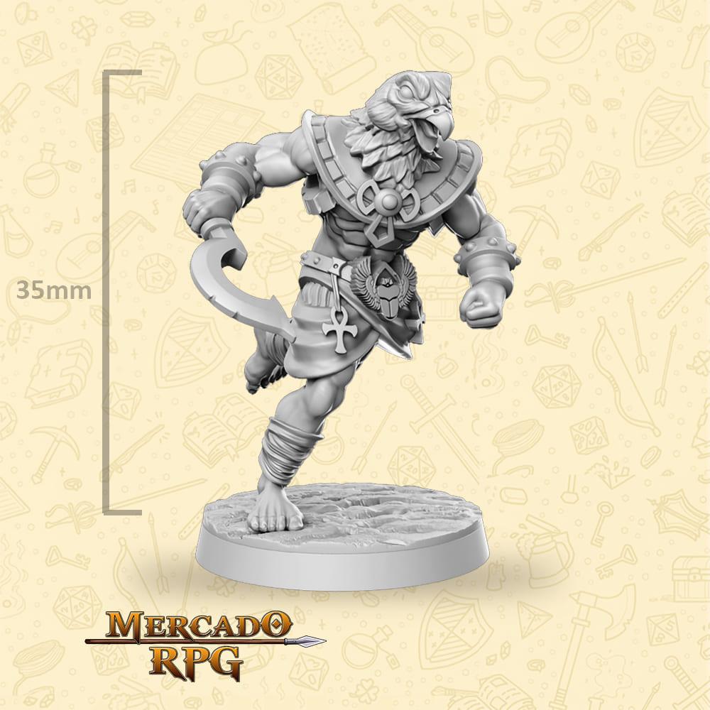 Horathi Warrior Khopesh - Miniatura - RPG