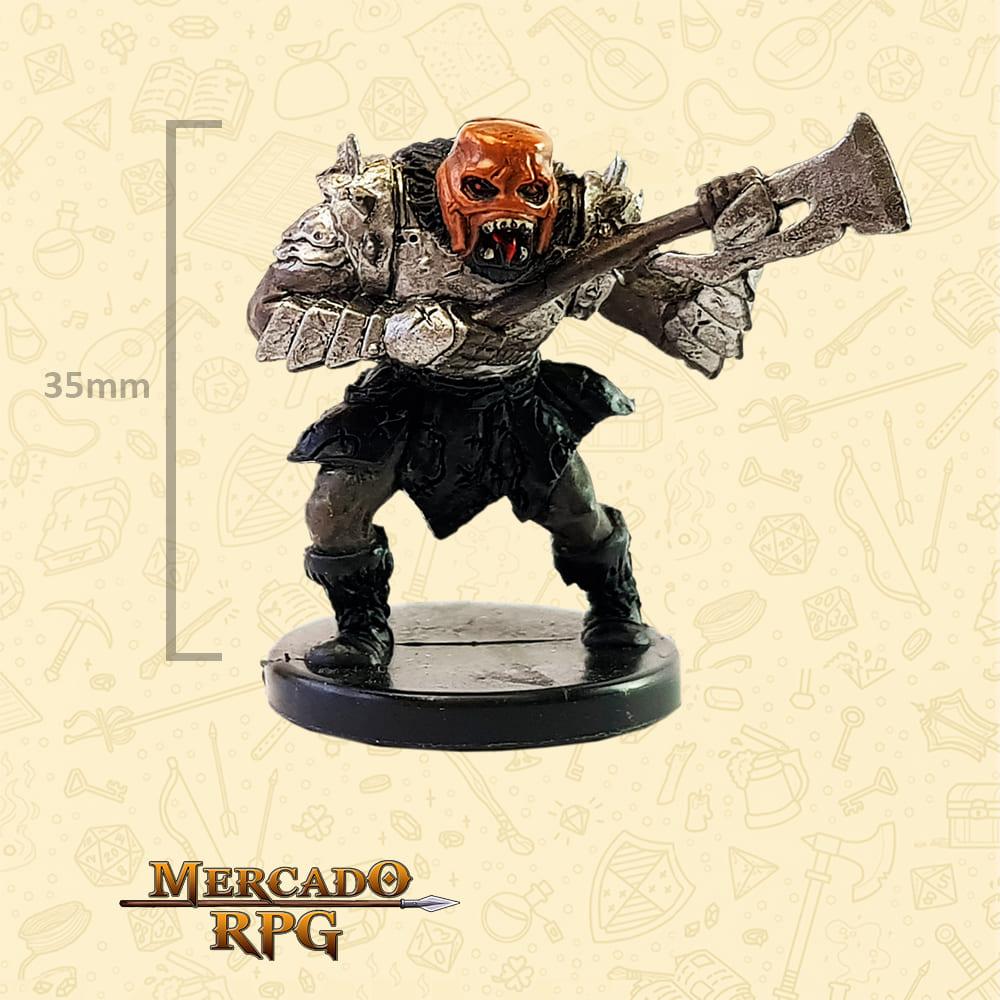 Howling Orc - Miniatura D&D - RPG