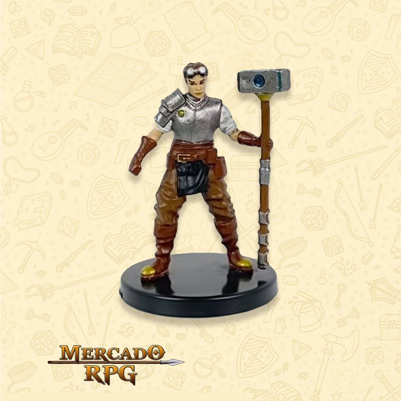 Human Artificer - Miniatura RPG