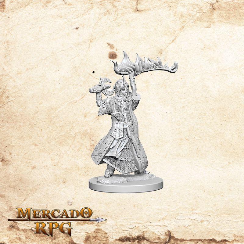 Human Female Cleric A - Miniatura RPG  - Mercado RPG