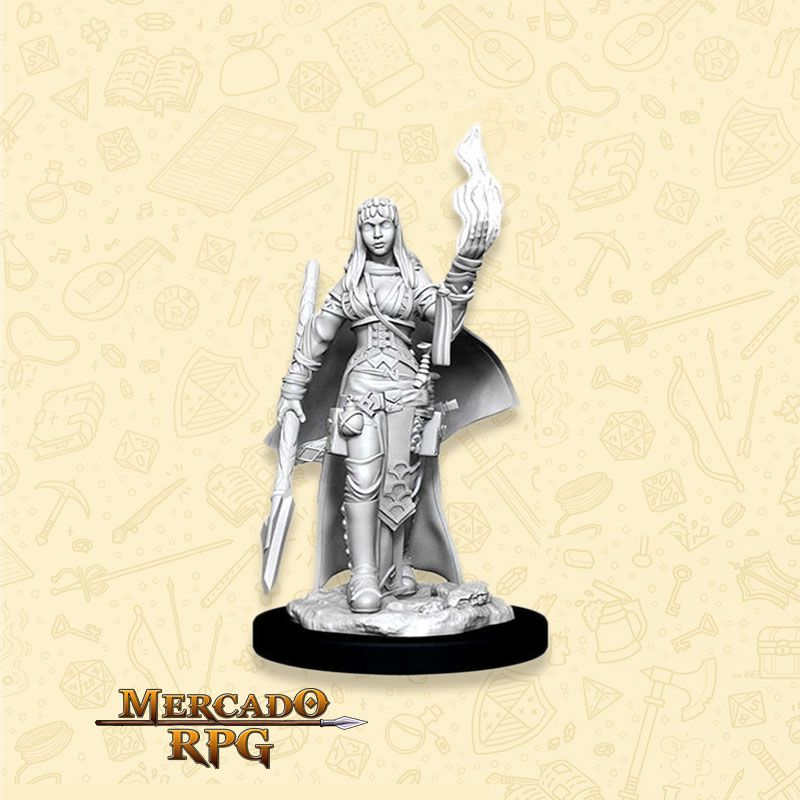 Human Female Oracle A - Miniatura RPG  - Mercado RPG