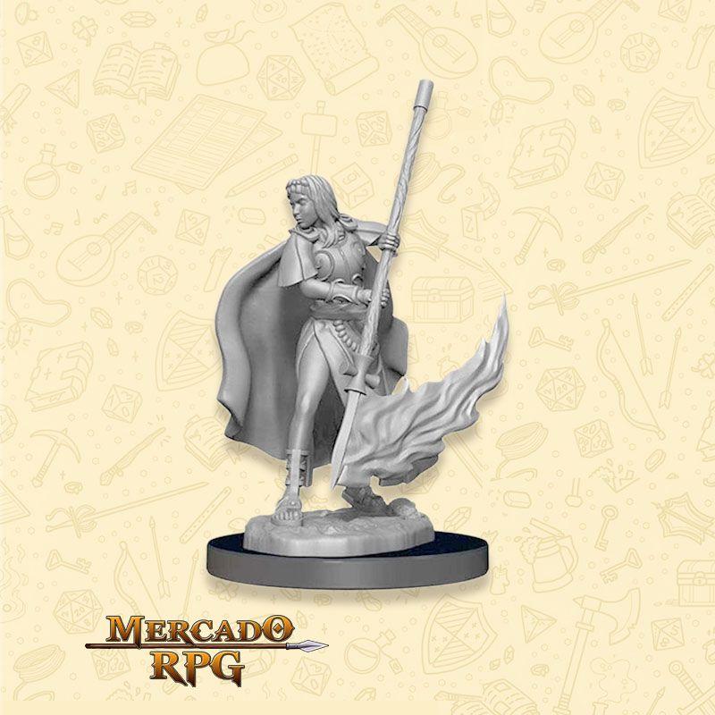 Human Female Oracle B - Miniatura RPG  - Mercado RPG