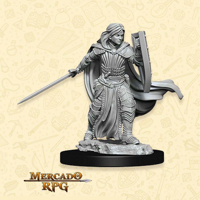 Human Female Paladin C - Miniatura RPG  - Mercado RPG